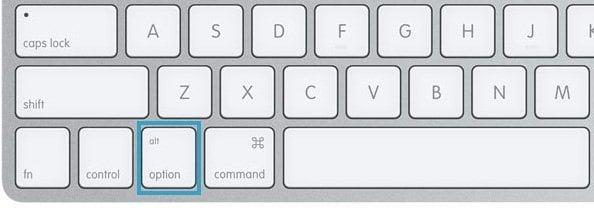 command key equivalent on pc keyboard