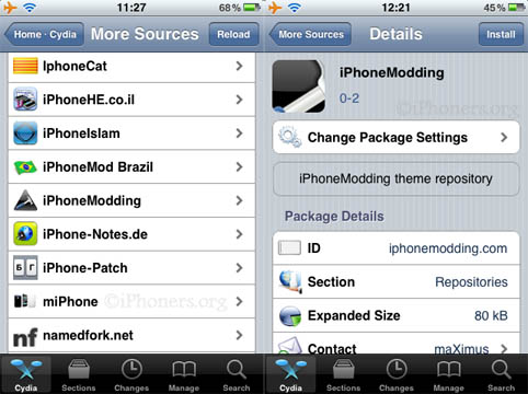 iPhoneModding Source Install