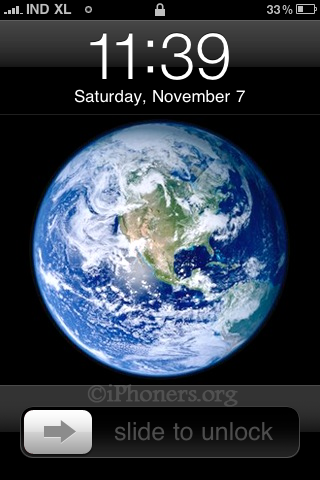 Anyone Else Notice The New Leaked Earth Wallpaper Apple
