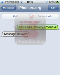 how to tell if text message was delivered iphone