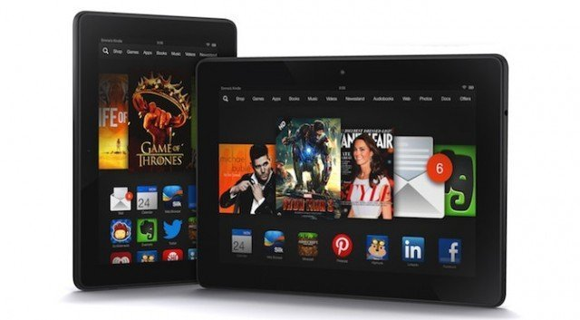 Kindle Fire HDX Displays
