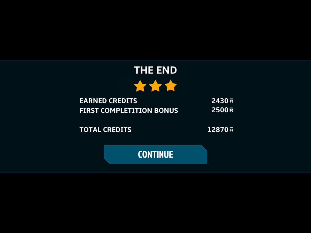 Star Horizon: The end level