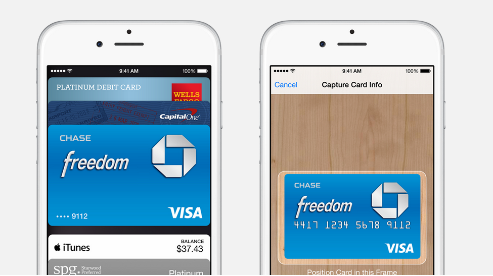 Apple Pay cards