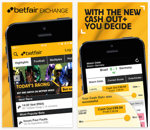 Apps Betfair