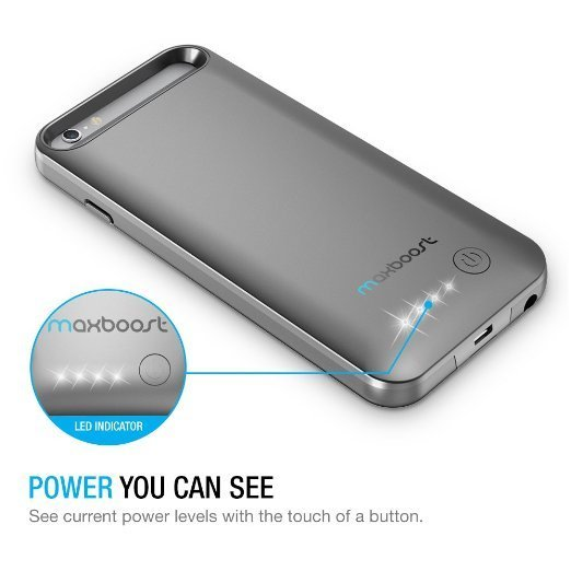 maxboost iphone 6 battery case