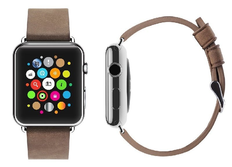 Apple Watch Ulak Strap leather