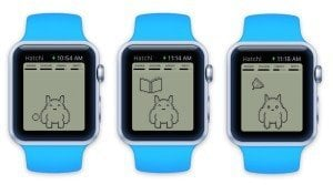 Hatchi on Apple Watch