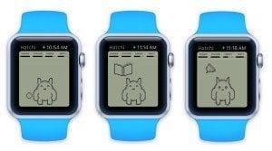 Hatchi on Apple Watch