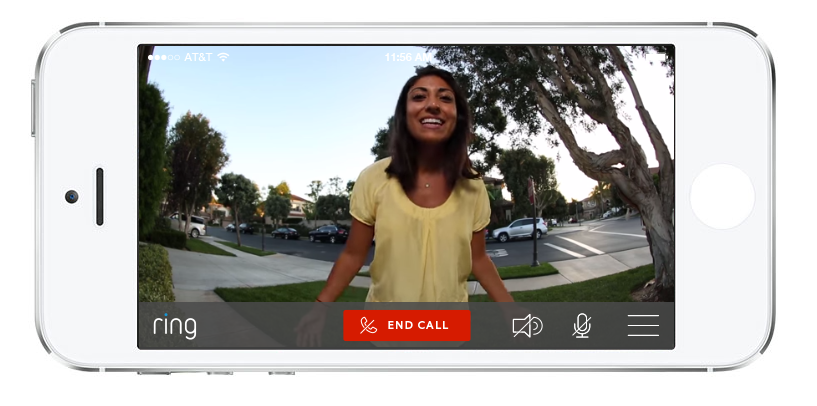 Ring Video Doorbell iphone app
