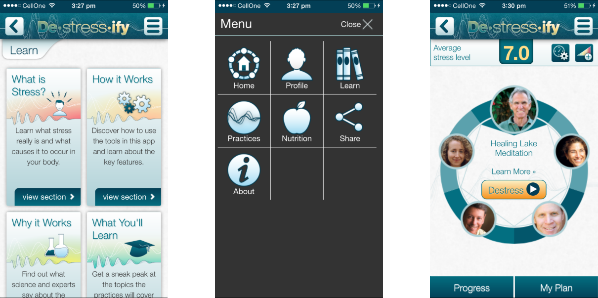 Destressify PRO app Review 2