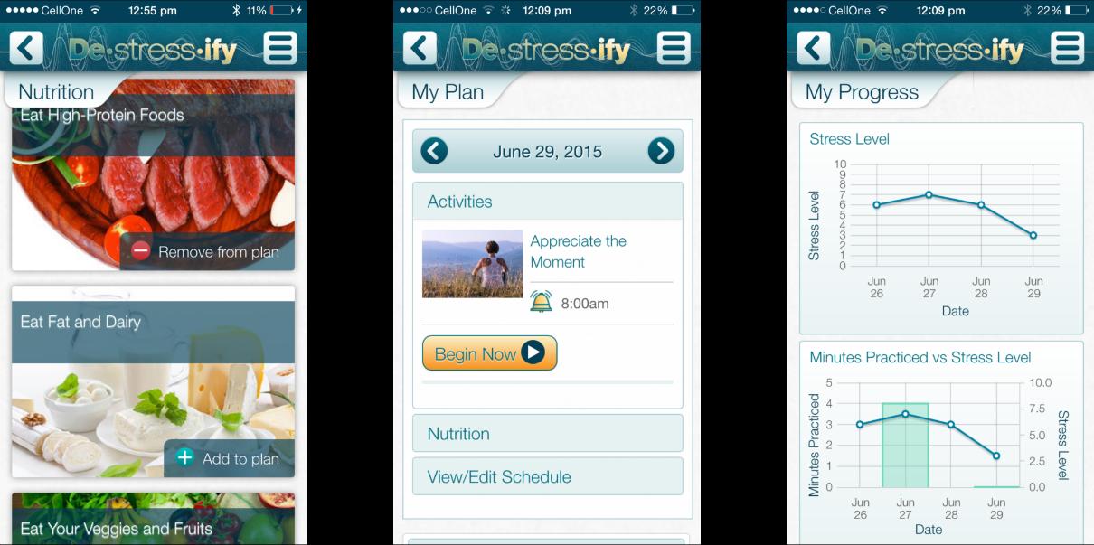 Destressify PRO app Review 4