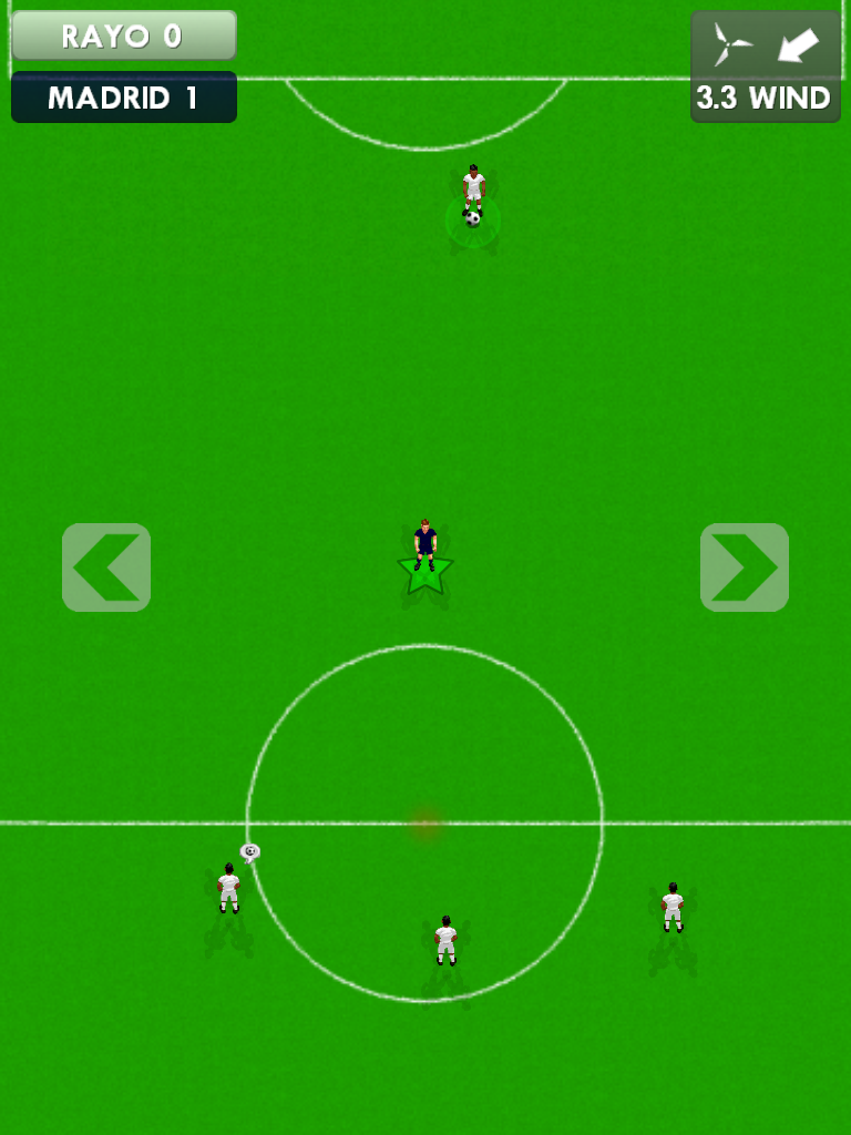 New Star Soccer Intercept Minigame