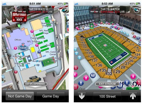SB XLVI Guide for iPhone, iPad