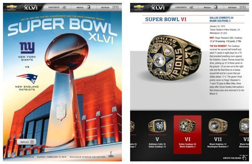 Super Bowl XLVI Official NFL Game Program