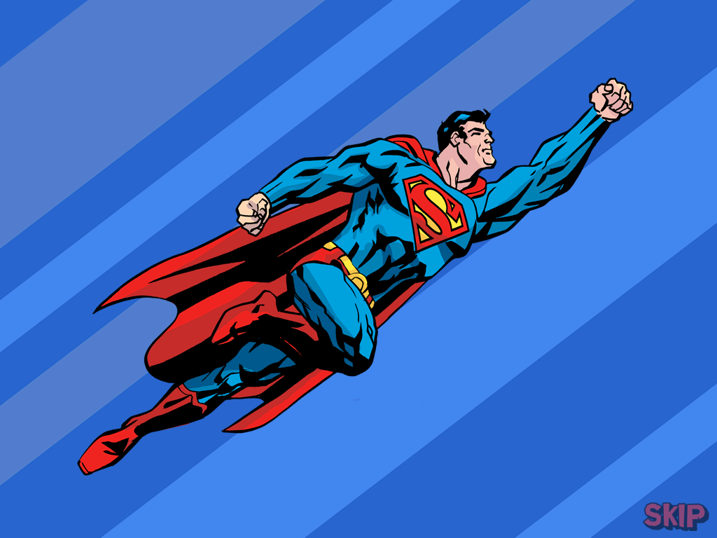 clipart superman flying - photo #10