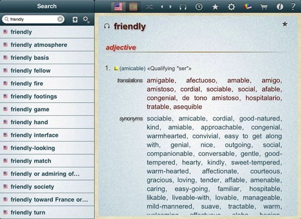 dictionary-ipad