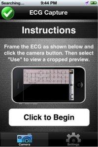 iPhone-ECG-app