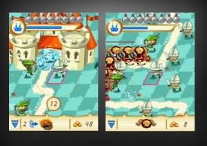 Fantasy kingdom defense gameplay