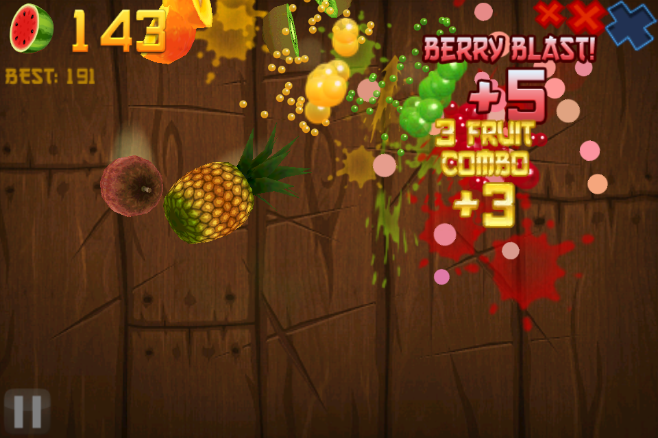 Fruit Ninja (update) Review - New flavors available!