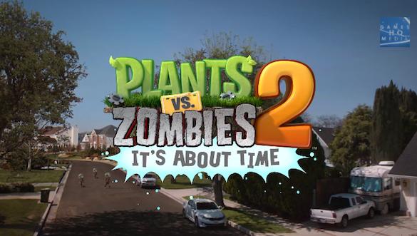 Plants vs zombies 2 release date