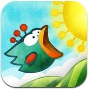 Tiny Wings – Review – Fly across hills with just a touch of a finger