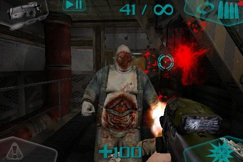 best 1st person shooter iphone 5