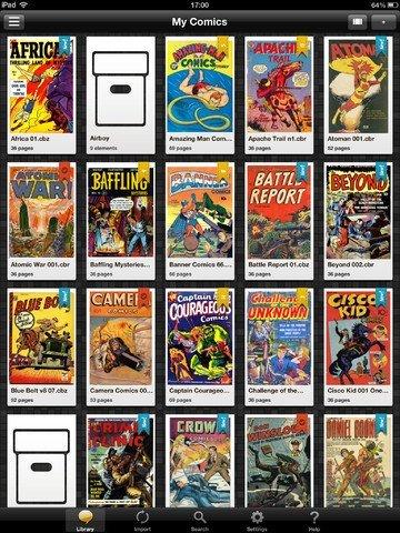 Free comic book reader iphone