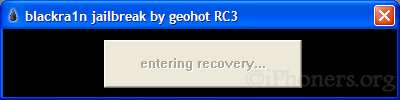 Entering Recovery