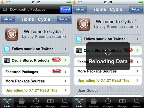 Cydia download update
