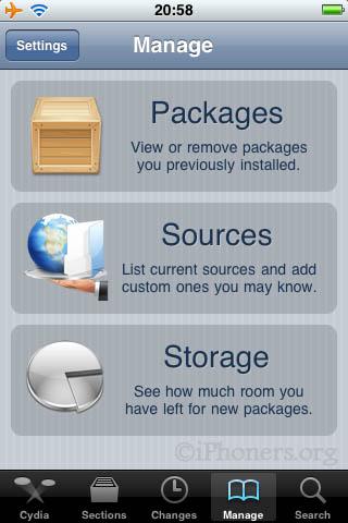 Cydia Manage