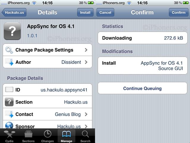 Installing AppSync