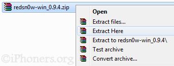 Jailbreak 3.1.3 using redsn0w 0.9.4