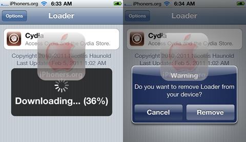 Installing Cydia greenpois0n