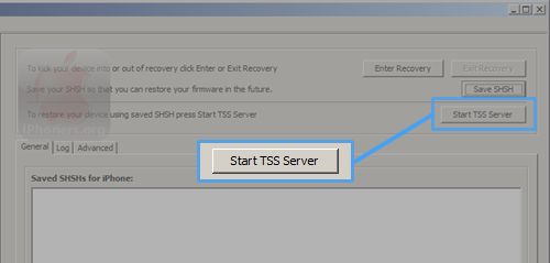 TinyUmbrella Start TSS Server