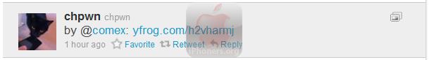 iPad 2 Jailbroken Tweet