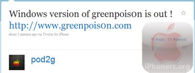 greenpois0n Windows released