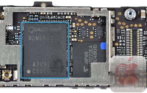 iPhone 4 Verizon Dual-mode Chip