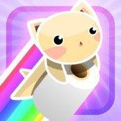 Rainbow Tissue Cat