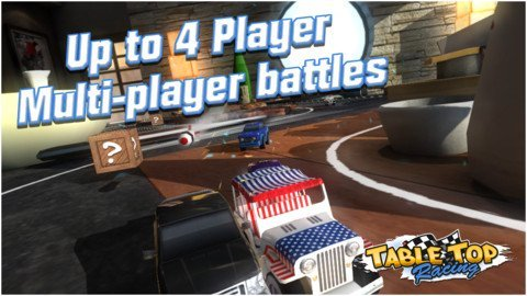 Table Top Racing Review - Things get interesting when you're shrunken and smaller