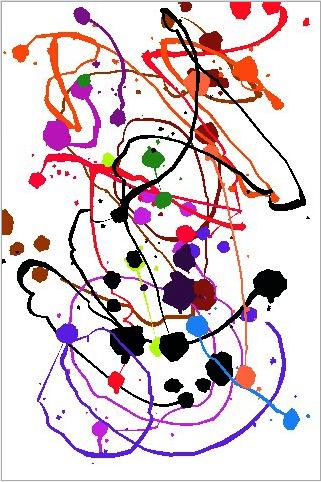 Jackson Pollock by Miltos Manetas