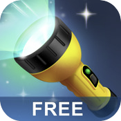 iHandy Flashlight Free: Carry Around This Flashlight That Floods A Space With Light