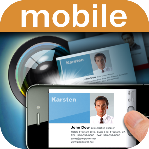 WorldCard Mobile(business card reader)