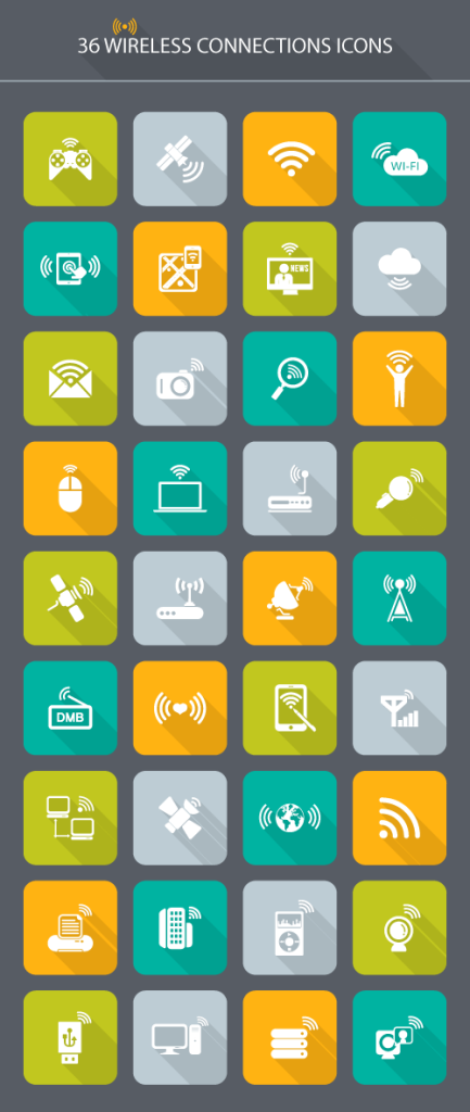wireless-connections-icons
