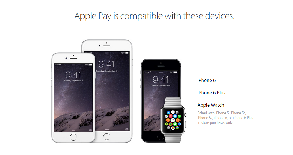 Apple Pay compatibility