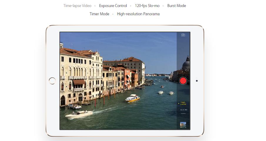 iPad Air 2 - Camera