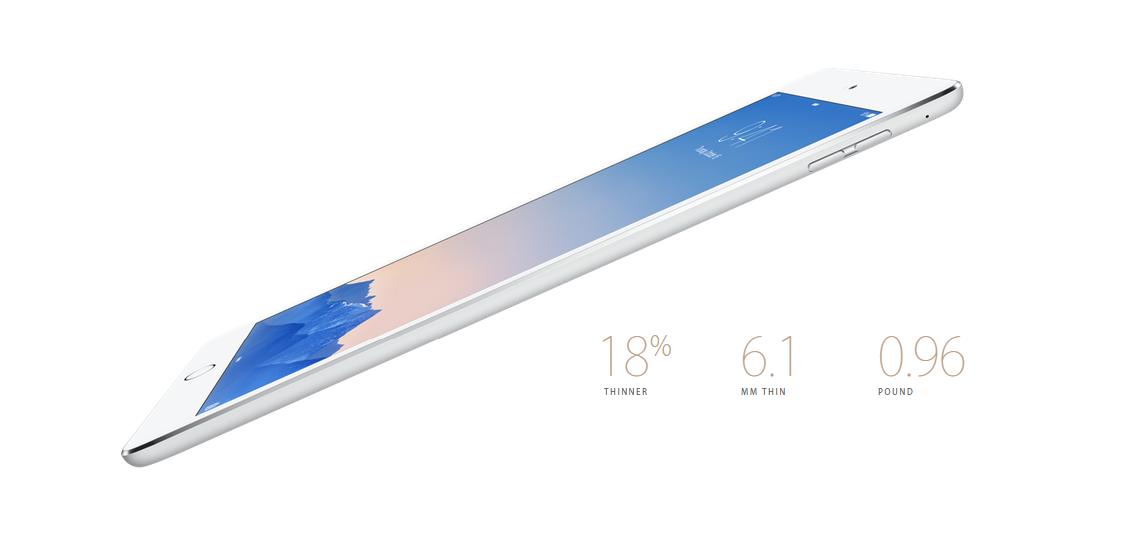 iPad Air 2 dimensions