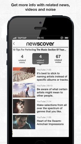 newscover Review - The intelligent newspaper