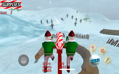 Aaargh! Santa Claus against the Zombie Pirates
