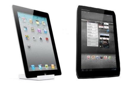 Apple iPad 2 Vs Motorola DROID XYBOARD 10.1