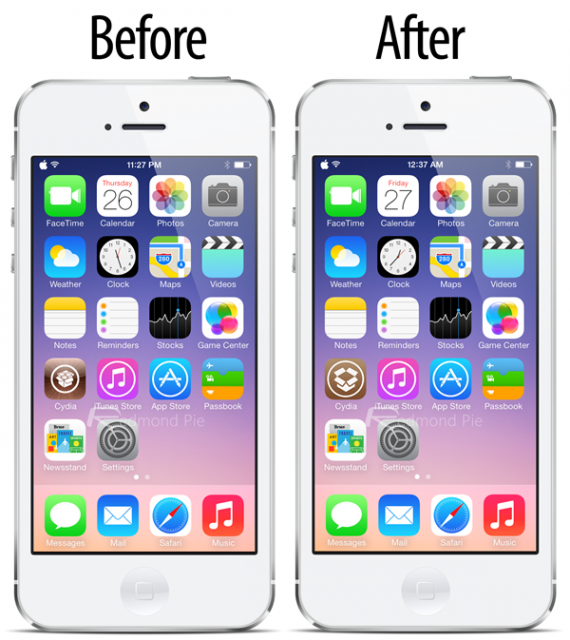 Before-After-Cydia